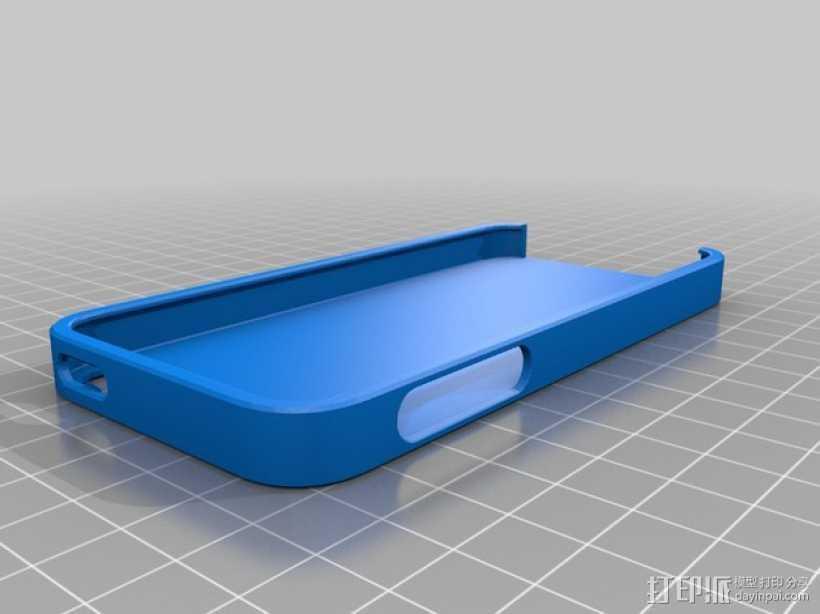 手机壳 3D打印模型渲染图