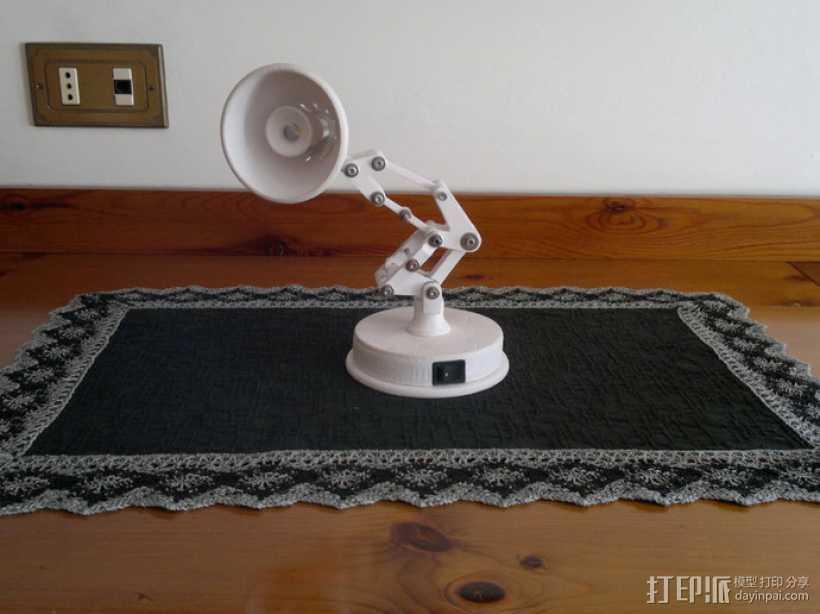 迷你可折叠小台灯 3D打印模型渲染图