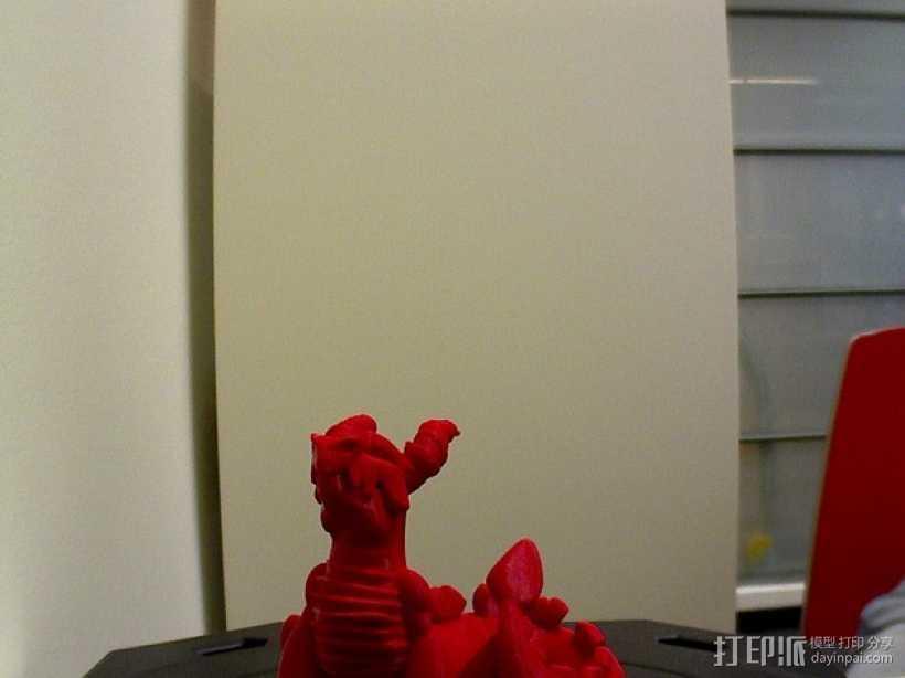 喷火龙 模型 3D打印模型渲染图