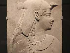 埃及公主浮雕模型