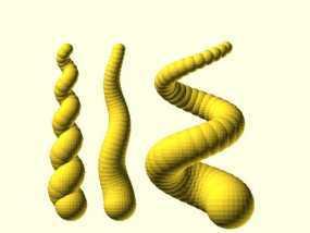 螺旋形的角