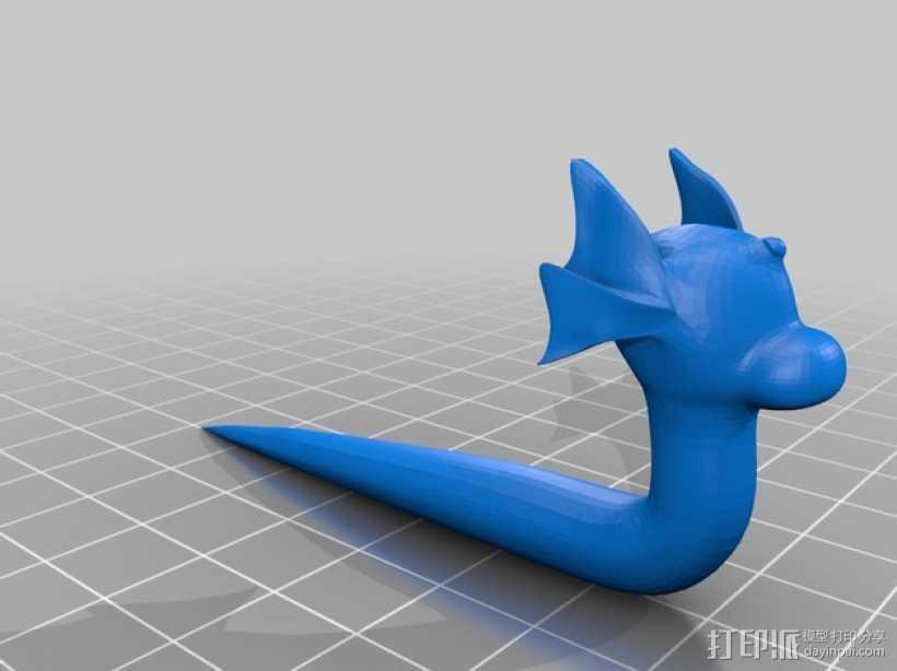 口袋妖怪 迷你龙 模型 3D打印模型渲染图