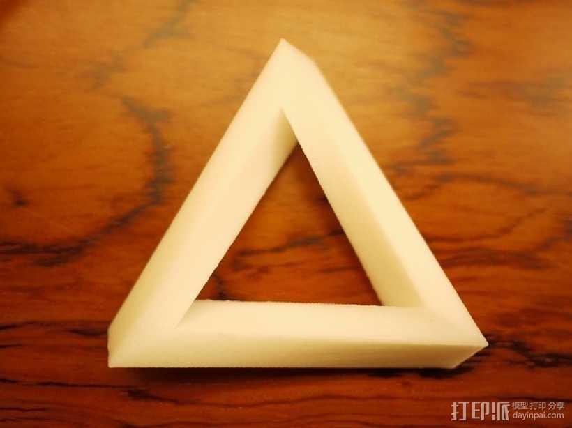 潘诺斯三角形 3D打印模型渲染图