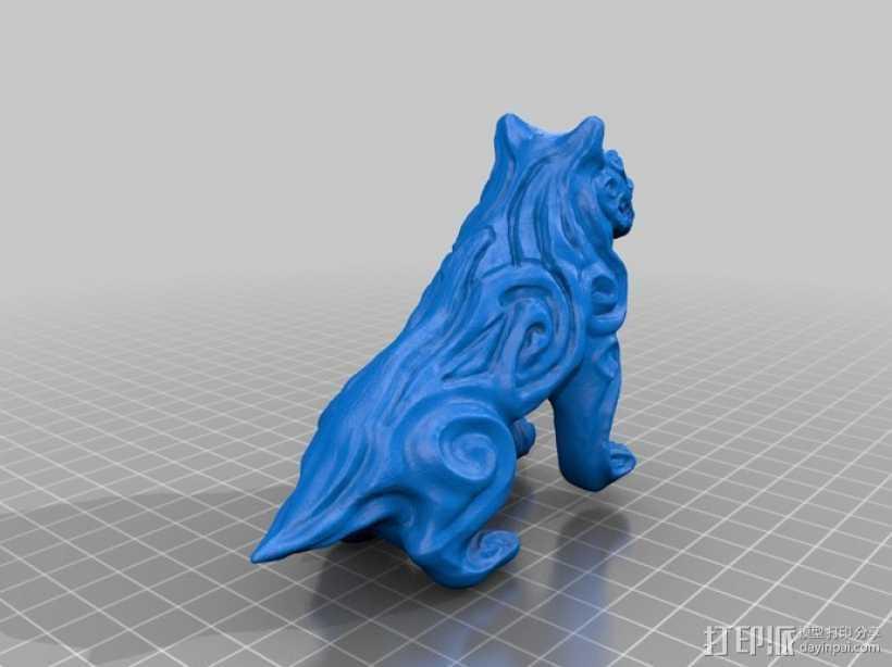 魔鬼狗  模型 3D打印模型渲染图