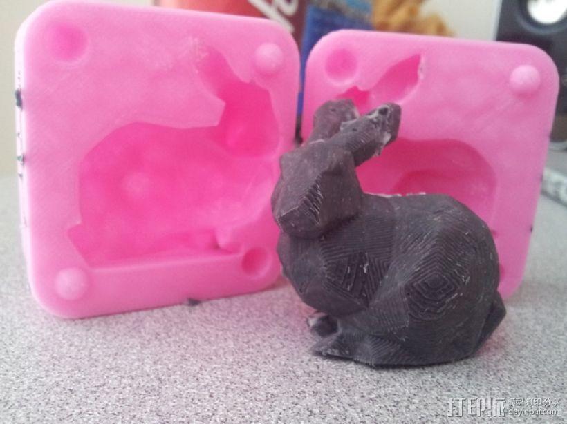 斯坦福兔子模型 3D打印模型渲染图