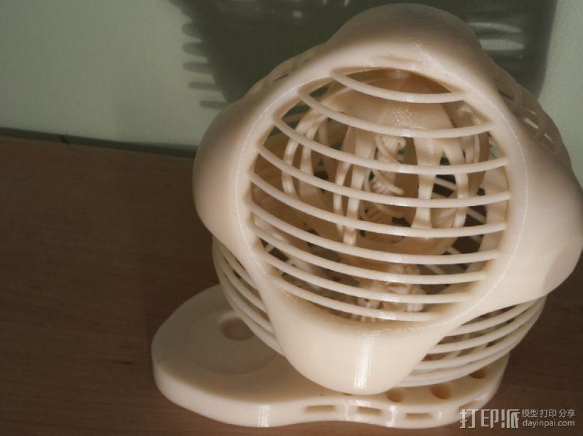 DeskOrbe装饰物 3D打印模型渲染图