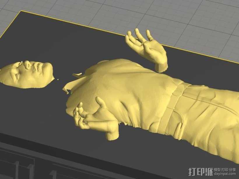 Han solo韩索罗 模型 3D打印模型渲染图