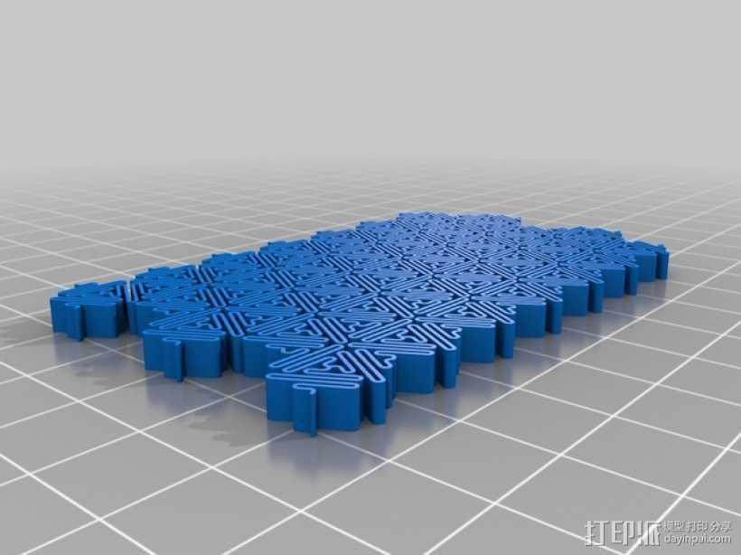 介孔结构材料模型 3D打印模型渲染图