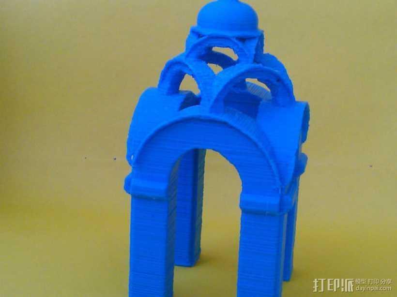 波克罗夫斯基大教堂 模型 3D打印模型渲染图