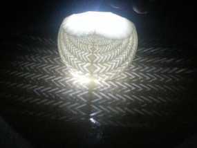 斜纹立体投影球