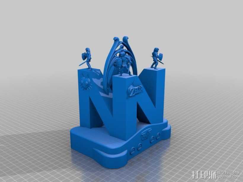 神龛 模型 3D打印模型渲染图