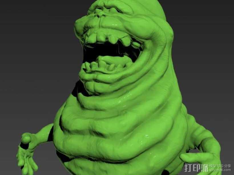 Slimer史莱姆 模型 3D打印模型渲染图