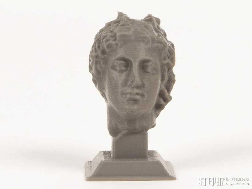 罗曼头像雕塑模型 3D打印模型渲染图