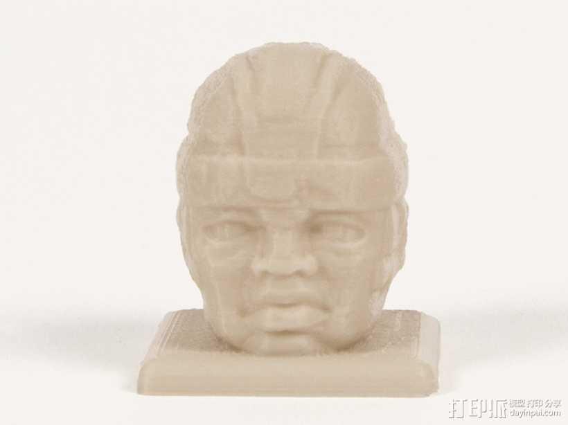 奥尔梅克 3D打印模型渲染图