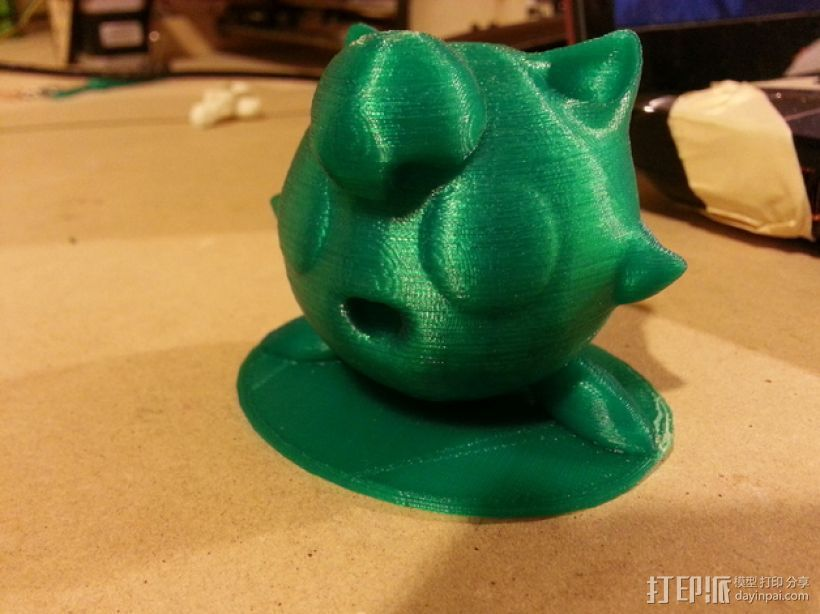 胖丁 3D打印模型渲染图