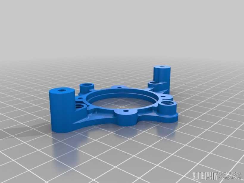LEGO乐高仿生兽 3D打印模型渲染图