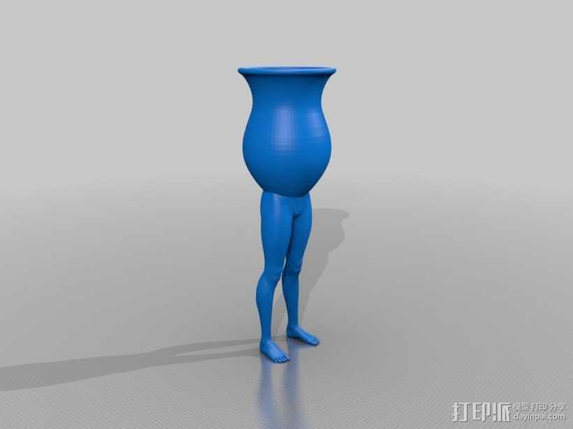 高脚杯 3D打印模型渲染图