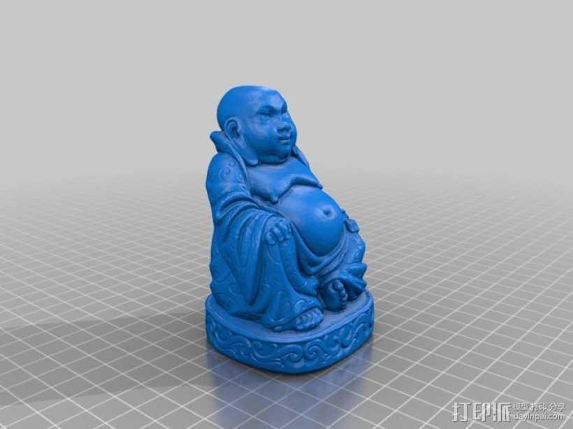 佛像 雕塑模型 3D打印模型渲染图
