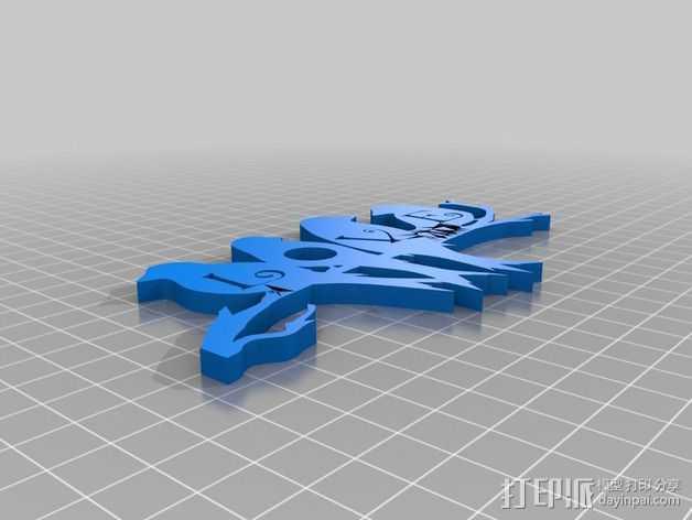爱情鸟 模型 3D打印模型渲染图