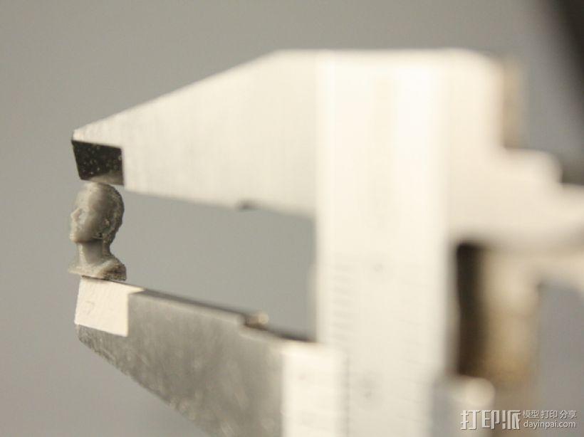 马尔切洛 雕塑模型 3D打印模型渲染图