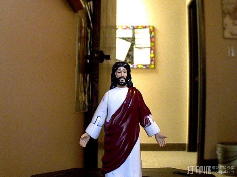 玩具人 耶稣 模型 3D打印模型渲染图
