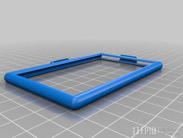 卡片框 3D打印模型渲染图
