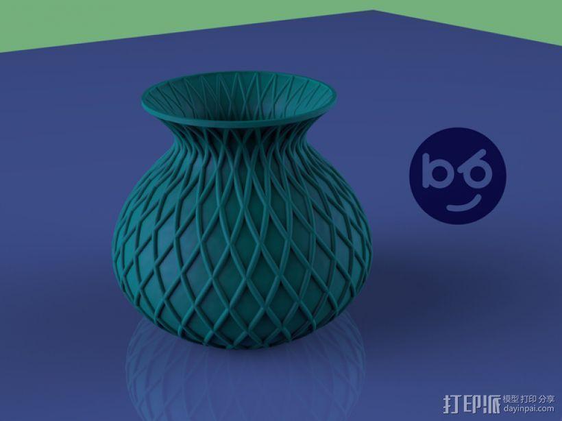 小花瓶 3D打印模型渲染图