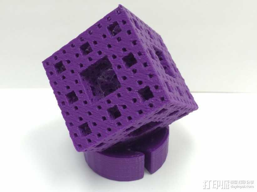 门格尔海绵模型 3D打印模型渲染图