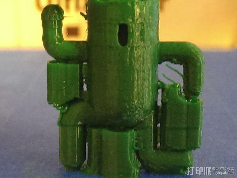 仙人掌模型 3D打印模型渲染图