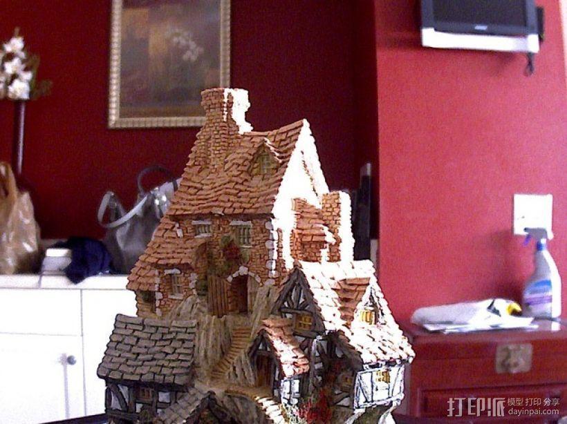 岩石屋 模型 3D打印模型渲染图