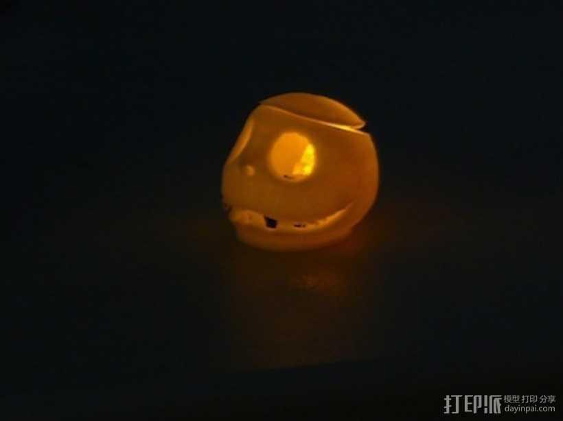 杰克灯 3D打印模型渲染图