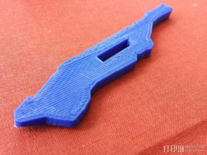 曼哈顿岛 3D打印地图模型 3D打印模型渲染图