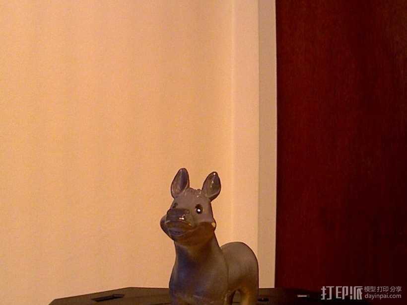 橡胶驴 3D打印模型渲染图