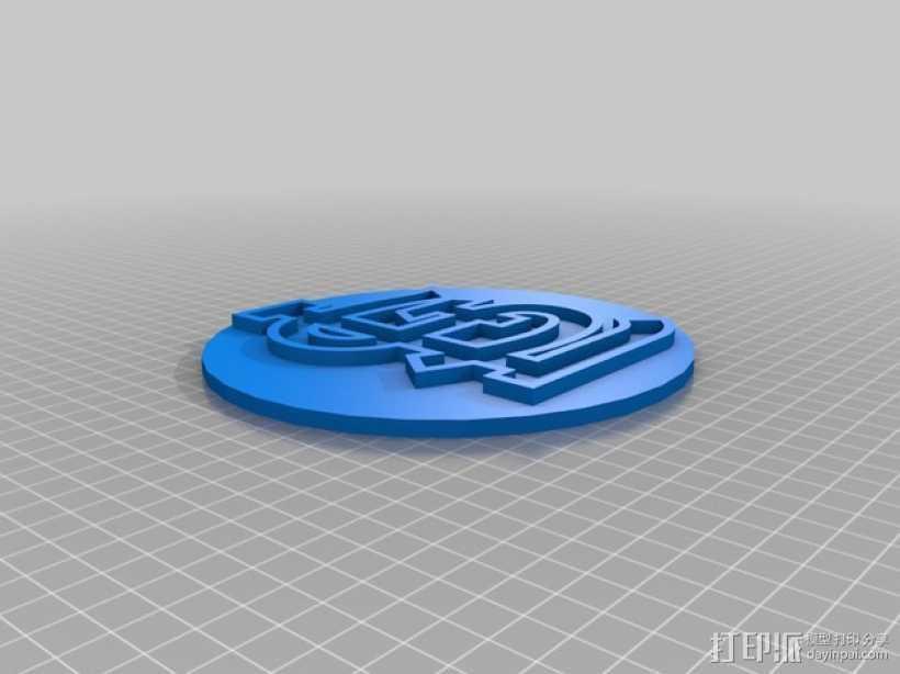St. Louis标志 3D打印模型渲染图
