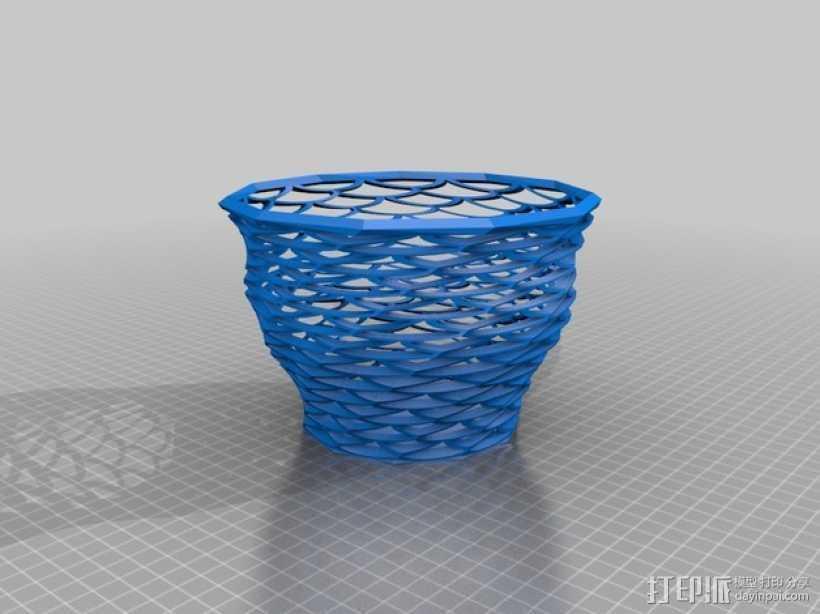 Funky花瓶 3D打印模型渲染图