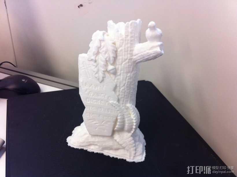 墓碑模型 3D打印模型渲染图