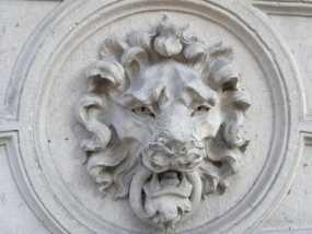 狮子头壁挂