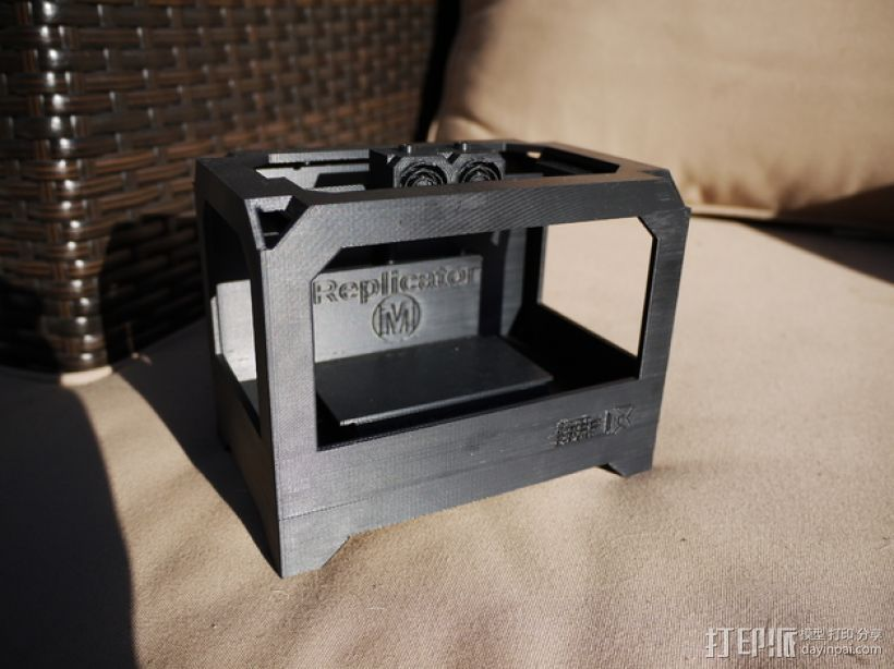 MakerBot Replicator打印机模型 3D打印模型渲染图