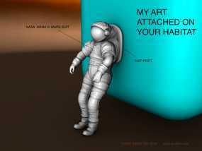 太空服模型