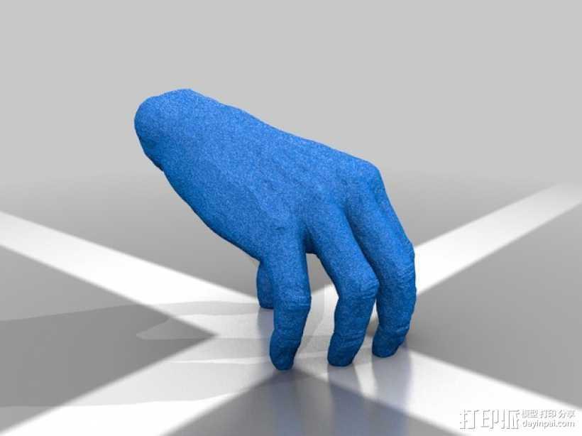 手——亚当斯一家 3D打印模型渲染图