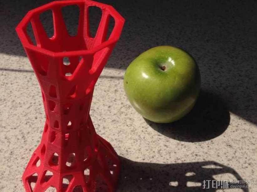 参数化雕塑塔 3D打印模型渲染图