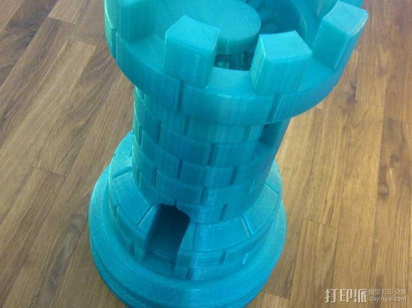 城堡模型 3D打印模型渲染图