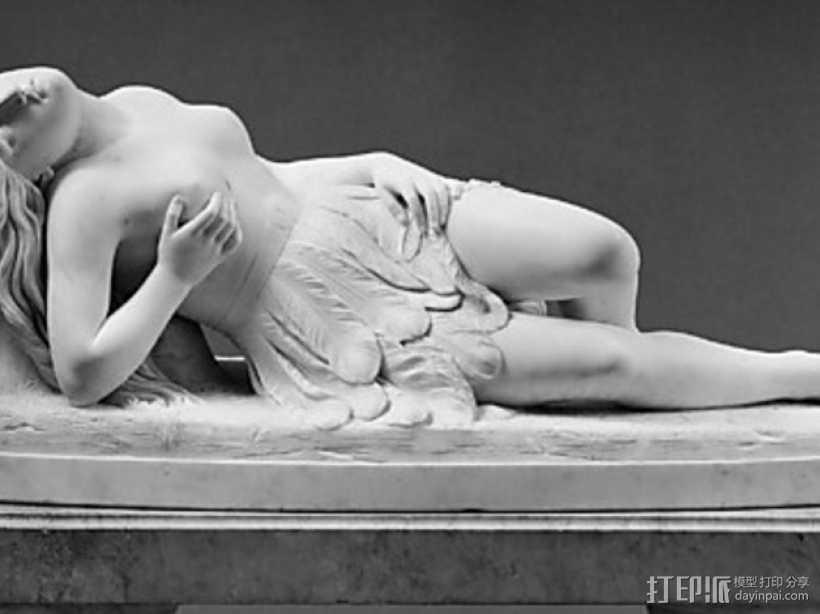 墨西哥女孩雕塑模型 3D打印模型渲染图