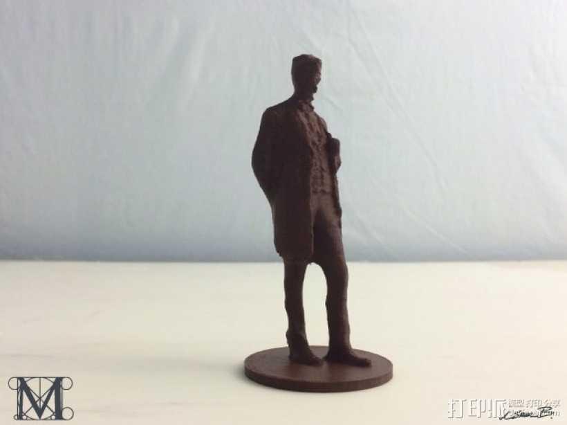 亚伯拉罕林肯 3D打印模型渲染图