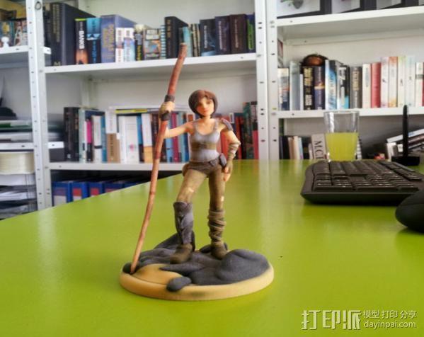 辛特尔模型 3D打印模型渲染图