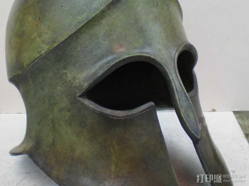 科林斯人头盔 3D打印模型渲染图