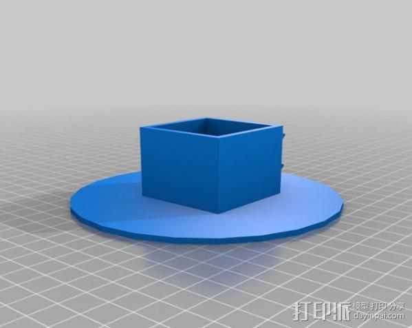 涂料架 瓶架 3D打印模型渲染图