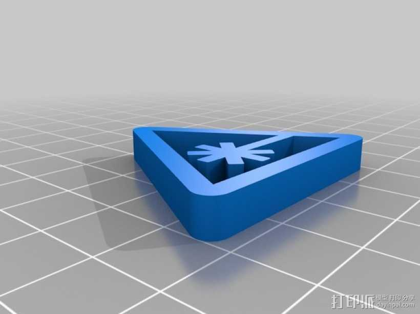 Nerdist Industries标志 3D打印模型渲染图