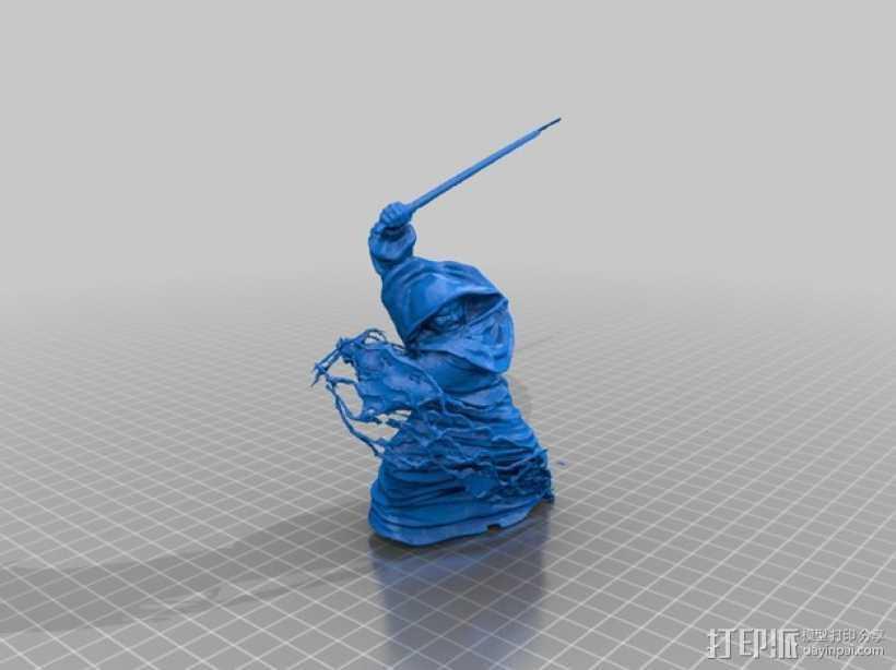 西斯皇族 3D打印模型渲染图