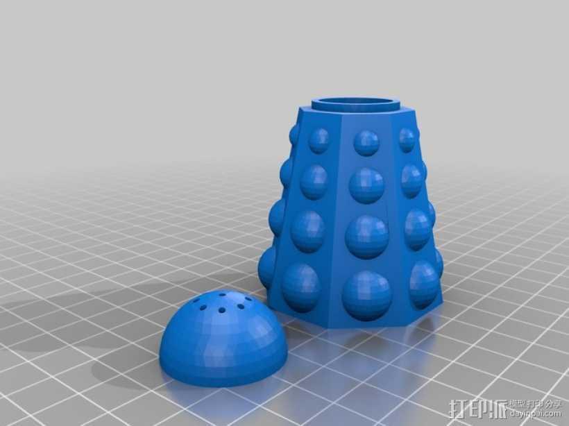 调料瓶  3D打印模型渲染图